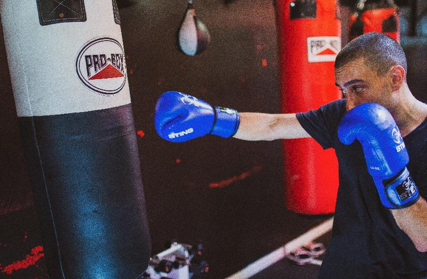 Boxing with Giorgio Di Cecco 1