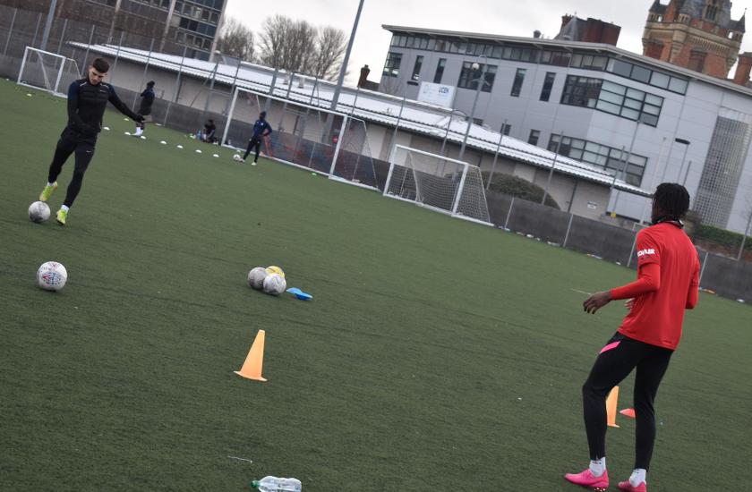 Football with Callum Dolan