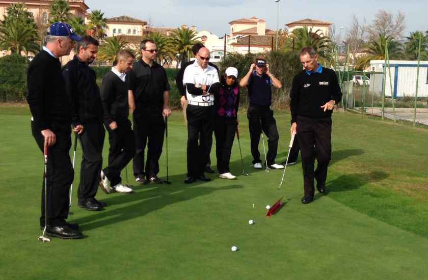 Golf with Paul Tolley