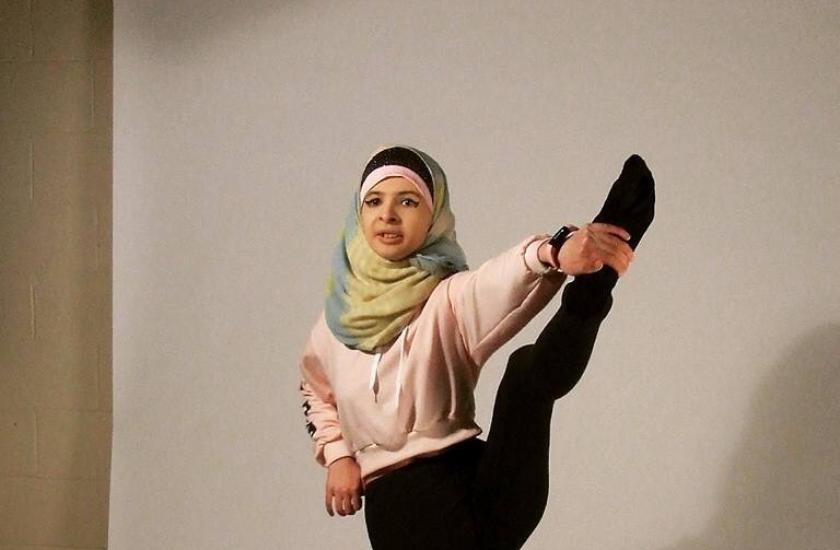Gymnastics with Afraa Farhat 1