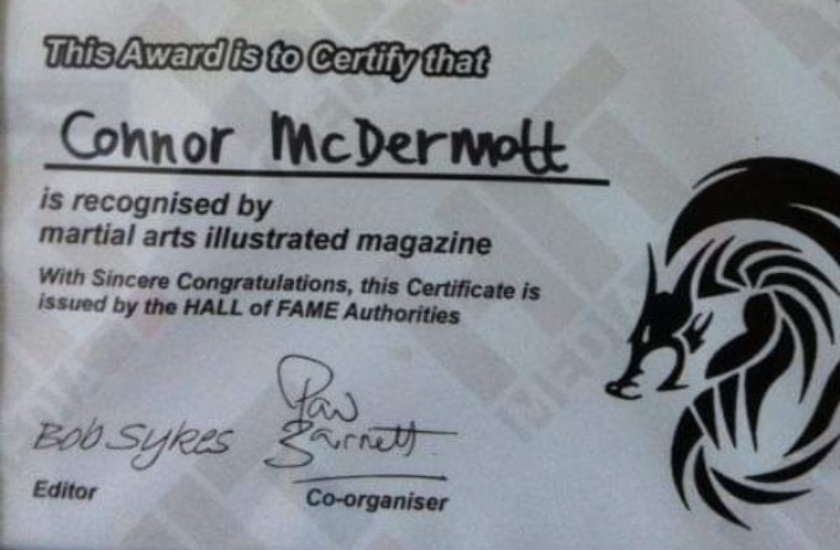 Mixed Martial Arts with Connor McDermott