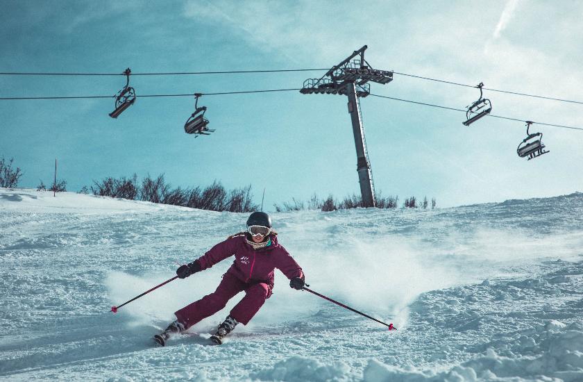 Skiing with Bartik Iris Theodora