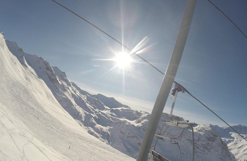 Skiing with Josh Peck