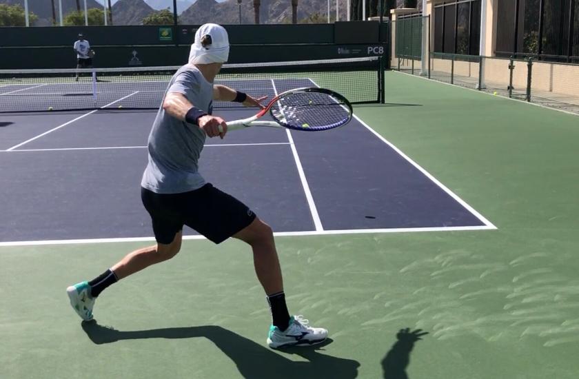 Tennis with Theo Jones